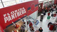 Fanoušci Floridy Panthers v BB&T Center. Po Jágrově příchodu zájem o hokej roste.