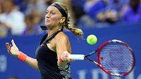 Česká tenistka Petra Kvitová postoupila na US Open do druhého kola.