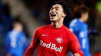 Takumi Minamino se upsal Liverpoolu.