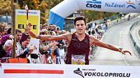 Vítěz závodu Jiří Homoláč.