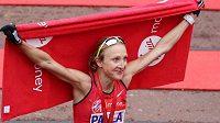 Paula Radcliffe se loučí s aktivní závodní kariérou - London Marathon 2015.