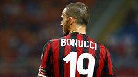 Leonardo Bonucci v dresu AC Milán.