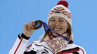 Anastasia Kuzminová získala pro Slovensko zlatou medaili na OH v Soči.