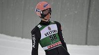 Karl Geiger vyhrál závod Světového poháru v Lahti.