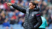 Frank De Boer ještě jako trenér Crystal Palace.