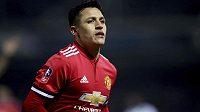 Alexis Sánchez poprvé v soutěžním utkání oblékl dres Manchesteru United.