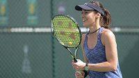 Švýcarská tenistka Martina Hingisová.