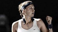 Petra Kvitová je ráda, že se bude hrát v Ostravě.