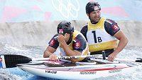 Zklamání! Od vodních slalomářů bratrů Hochschornerových si Slováci slibovali zlato, spokojit se ale nakonec museli s bronzem.