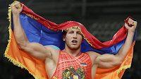 Artur Aleksanjan vybojoval Arménii po 20 letech zápasnické zlato z OH.
