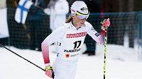 Česká běžkyně na lyžích Kateřina Smutná na MS v Lahti.