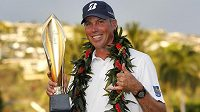 Golfista Matt Kuchar vyhrál Sony Open na Havaji.