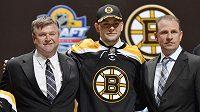 Skvělého umístění se dočkal také obránce Jakub Zbořil, jenž jako třináctka draftu putuje do Bostonu.