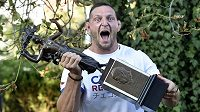 Judistický mistr světa Lukáš Krpálek převzal Cenu Gutha-Jarkovského za nejlepší výkon loňského roku podle sportovců.