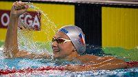 Plavkyně Barbora Seemanová v Buenos Aires na olympijských hrách mládeže.