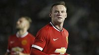 Útočník Manchesteru United Wayne Rooney