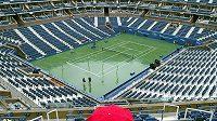US Open by se mohlo hrát za specifických podmínek.