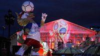 Zabivaka, maskot fotbalového MS v Rusku.