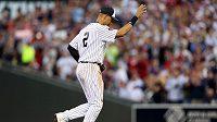 Baseballista Derek Jeter při utkání hvězd MLB.