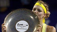 Kirilenková na slast vítězství už pomalu zapomněla.