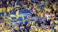 Fanoušci Švédska měli v semifinále s Dány důvod k oslavám.
