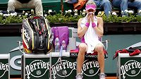 Zklamaná tenistka Eugenie Bouchardová, která na Roland Garros vypadla už v prvním kole.