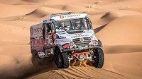 Těžké chvíle prožil během 6. etapy Rallye Dakar český závodník Aleš Loprais (ilustrační foto).