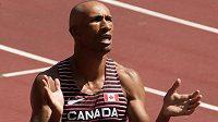 Kanaďan Damian Warner mohl být se svým výkonem spokojen