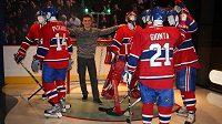 David Lafata na NHL v zámoří zajít nemohl, přesto se alespoň na chvilku ocitl ve společnosti hvězd.