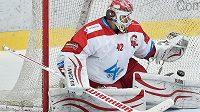Branislav Konrád z Olomouce se postaví na olympiádě do branky proti Rusku.