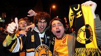 Fanoušci slavili v ulicích Litvínova premiérový mistrovský titul celou čtvrteční noc.