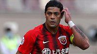 Brazilský fotbalista Hulk po čtyřech letech v Šanghaji skončil.