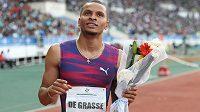 Sprinterský souboj na nadcházejícím mistrovství světa bude ochuzen o trojnásobného olympijského medailistu Andreho de Grasseho.