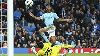 Raheem Sterling vysvobodil svým gólem Manchester City v utkání Ligy mistrů proti Feyenoordu. Citizens vyhráli 1:0.