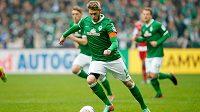Aaron Hunt z Werderu Brémy.