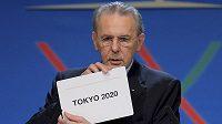 Prezident Mezinárodní olympijské federace (MOV) Jacques Rogge v sobotu oznámil, že olympijské hry v roce 2020 uspořádá Tokio.