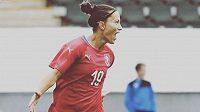 Česká fotbalistka Petra Divišová ukončila reprezentační kariéru.