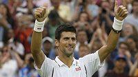 Novak Djokovič bude bojovat o wimbledonské finále s Del Potrem