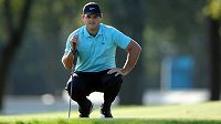 Patrick Reed z USA zatím vede golfový major US Open