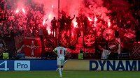 Fanoušci Sparta Moskva řádili, klubu hrozí trest.