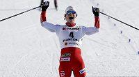 Norská běžkyně na lyžích Marit Björgenová získala ve skiatlonu rekordní 15. zlatou medaili z MS