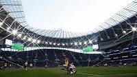 Tottenham Hotspur Stadium během zápasu mezi výběry Tottenhamu a Southamptonu do 18 let.