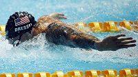 Americký plavec Caeleb Dressel v semifinále motýlkářské stovky vylepšil světový rekord.