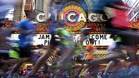 Maratón v Chicagu se konal po čtyřicáté.