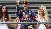 Sebastian Vettel triumfoval i v Belgii.