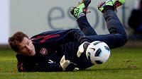 Jens Lehmann ještě v dresu Arsenalu.