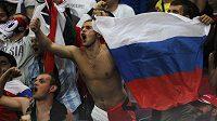 Ruští fanoušci se poprali s polskými