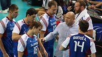 Čeští volejbalisté si zkomplikovali si boj o postup do play off ME.