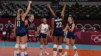Američanky prošly suverénně do semifinále volejbalového turnaje