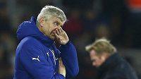 Arséne Wenger velmi nelibě nesl nezdary hráčů Arsenalu na hřišti Southamptonu.
